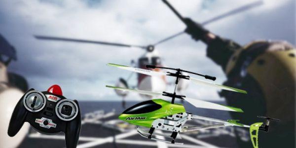 Učte se létat s Helikoptérou AirMax ir9102! Létající zábava vhodná i pro začátečníky, nyní dostupná pro kohokoliv se 60% slevou! Akční cena pouhých 590 kč!