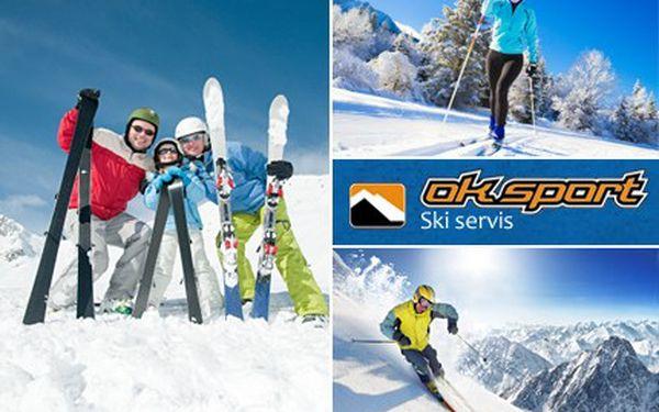 Dopřejte servis sjezdovým lyžím nebo běžkám. Budete kralovat všem sjezdovkám. Připravte své lyže nebo bězky na zimní sezónu s 50% slevou.