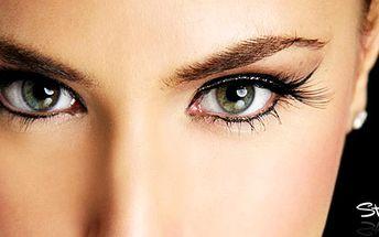 Mějte svůdný pohled! Pro dlouhotrvající krásu Vašeho pohledu! Za úžasnou cenu kompletní balíček korekce obočí, barvení řas a obočí za 99 Kč!