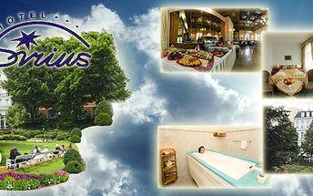 Luxusní 5 - denní relaxační pobyt s polopenzí pro dvě osoby v Park Spa Hotelu Sirius****, který se nachází v historickém centru Karlových Varů! Léčebné procedury v ceně!