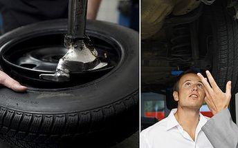 299 Kč za přezutí pneumatik včetně nafouknutí a vyvážení. A sníh ani silniční kontrola vás nezaskočí! Sleva 50 %.