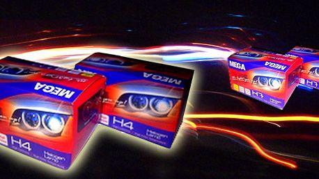 43% sleva na kvalitní značkové halogenové žárovky pro Vaše auto! Na výběr 2ks H4/12V, nebo H7/12V.