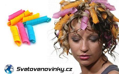 Magické natáčky s 60% slevou! Dokonalý nápaditý účes raz dva! Díky této vychytávce vytvoříte hravě perfektní styling. Lze použít nejen na dlouhé, ale také na krátší vlasy!