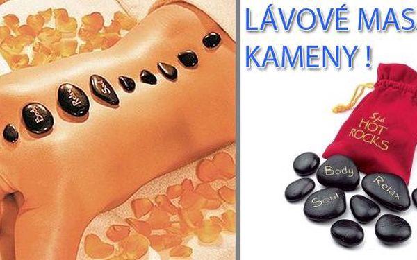 Lávové relaxační kameny za skvělých 149 Kč, vychutnejte si skvělý relax doma každý den !