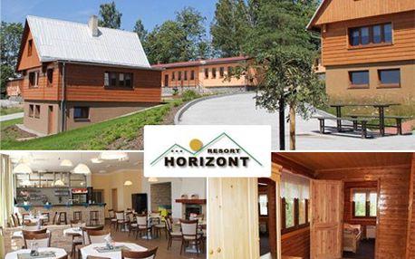 Malebné prostředí Beskyd vám nabízí nepřeberné množství aktivit. 2 noci s polopenzí pro 2 osoby se slevou 46 % v rekreačním středisku Horizont Resort, hotel Garni.