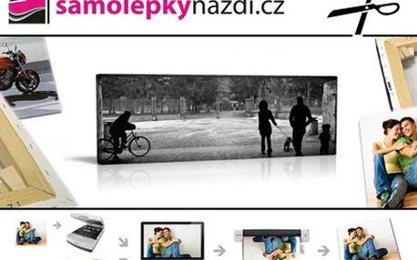 Dejte si se slevou právě teď, fotografické vzpomínky na vaši zeď. 51% sleva na velmi kvalitní fotoplátno 40 x 50 cm s vaší fotografií a poštovným ZDARMA.