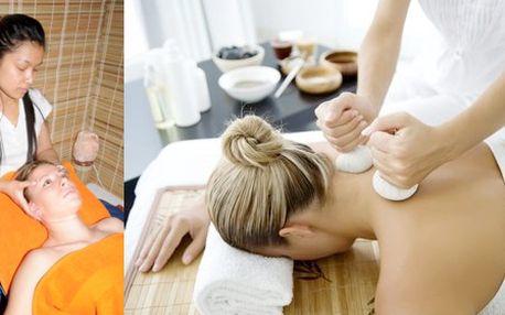 Thajská horká bylinná masáž od profesionálních thajských masérek. Uvolněte a prohřejte své tělo v ch