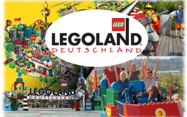 Nejlevnější zájezd do Legolandu v Německu jen za 1190 Kč!
