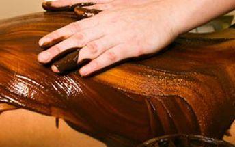 Čokoládová masáž se zábalem v relaxačním studiu Šárka. Užijte si sladké relaxační chvíle!