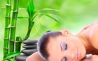 Bambusová masáž zad a nohou - novinka ve světě spa a wellness za skvělých 349 Kč! Oddejte se s námi exotické relaxaci se slevou 77 %!