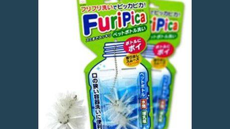 """40 % jen 177 Kč za kartáčky """"FuriPica"""" na čištění lahví, originál, který tu ještě nebyl. Pokud již dnes nemůžete sehnat štětky na lahve, máme tu dokonalejší řešení, neváhejte nad naším všestranným výrobkem"""