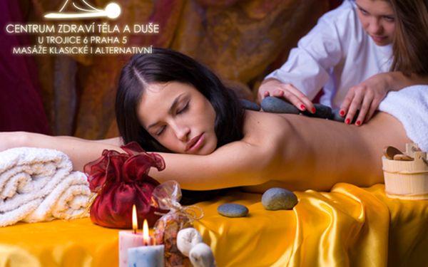Ideální proti zimě a zatuhlému tělu! Uvolněte své smysly díky lávovým kamenům! Celotělová masáž za příjemných 299 korun! Potěšte své tělo nebo darujte jako příjemnost.