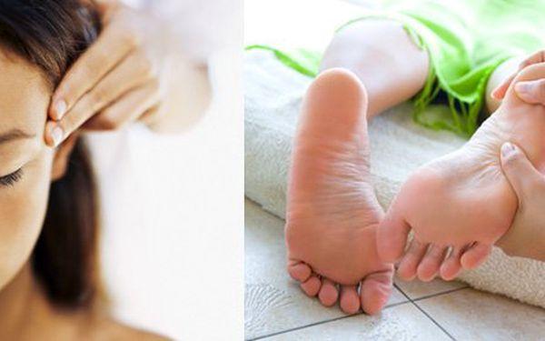 75 Kč za 20minutovou masáž hlavy, obličeje nebo chodidel. Relaxace, uvolnění, příliv energie a dobré nálady se slevou až 60 %.