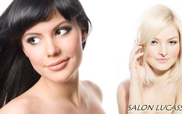 CENOVÁ BOMBA! Jen 410 Kč za OBŘÍ BALÍČEK pro vaše krásné vlasy – profesionální střih, barva, foukaná a závěrečný styling! Rozzařte podzimní ulice svým DOKONALÝM ÚČESEM díky salonu Lucasso!