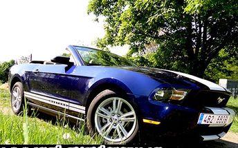 Podlehněte parádní jízdě v americké legendě. Nyní při akční slevě 54%! Pronájem vozu Ford Mustang pouze za 2 990 Kč. Zvýšený adrenalin pro muže, romantický zážitek pro ženy.