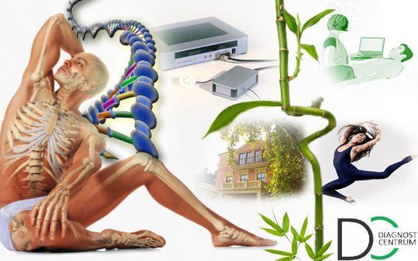KOMPLETNÍ DIAGNOSTICKÉ VYŠETŘENÍ CELÉHO TĚLA!!! Odborná zdravotní analýza certifikovaným přístrojem DIAGNOSTICS + analýza tělesné struktury přístrojem Omron!!! Celý proces trvá zhruba 60 minut a jeho součástí je i frekvenční terapie!!