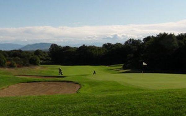 Pojeďte s námi za golfem do slunné Itálie. Užijte 5 dní a 3 green fee + neomezené tréninkové možnosti u Říma v golfovém areálu Querce, který patří mezi Top 5 v Itálii. Získáte slevu 30% a další zajímavé možnosti. Nabídku lze indviduálně nastavit (i pro negolfisty)..