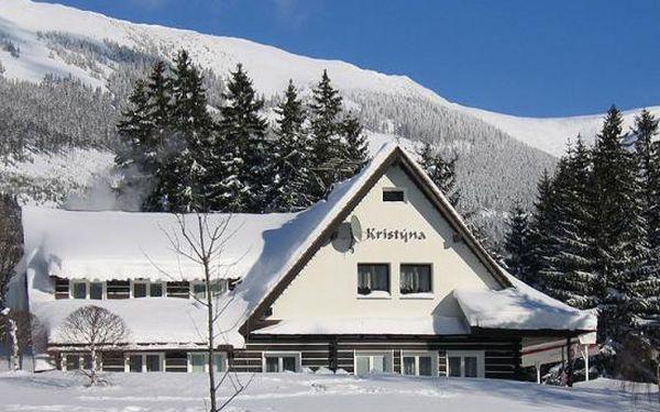 6 dní (5 nocí) s polopenzí pro 2 osoby v Hotelu Kristýna ve Špindlerově Mlýně za 8 710 Kč.