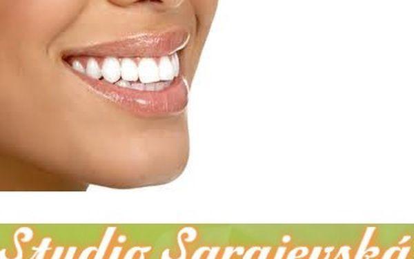 Krásné a zdravé zuby za pouhých 690,- Kč ve studiu Sarajevská, léčba a prevence zánětů dásní a citlivých zubů, účinná prevence před paradentózou.