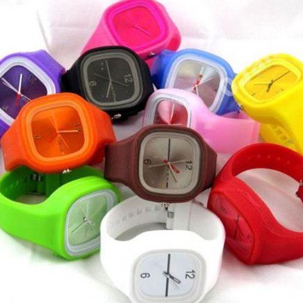 Jelly silikonové hodinky + ZDARMA ion sportovní hodinky. JEN ZA 85 Kč místo 440 Kč! Dva originální a nápadité doplňky pro každou příležitost za cenu, která se jen tak nevidí.