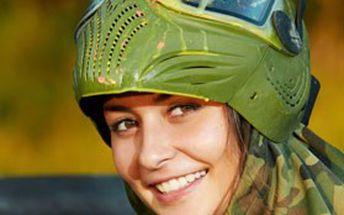 Paintball + zapůjčení zbraně, vzduchu a moderní termální nemlžící masky. Zažijte pořádnou dávku adrenalinu!