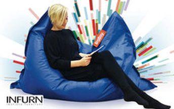 1260 Kč místo 2975 - Totální relax! Dopřejte si dávku odpočinku a relaxace na sedacím maxi vaku BigBoy se slevou 58 %