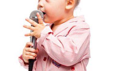 První krůčky k hudbě. Permanentka na 10 vstupů na hudebně výchovný program pro děti v solné jeskyni.