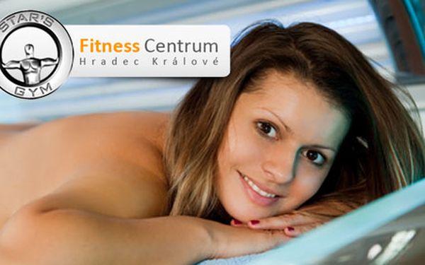 179 Kč za 30 min. vstup do solária v Star´s Gym Fitness Hradec Králové. Dopřejte svému tělu svůdný bronz a vitamín D. HyperSleva 50 % pro krásně snědou pokožku.