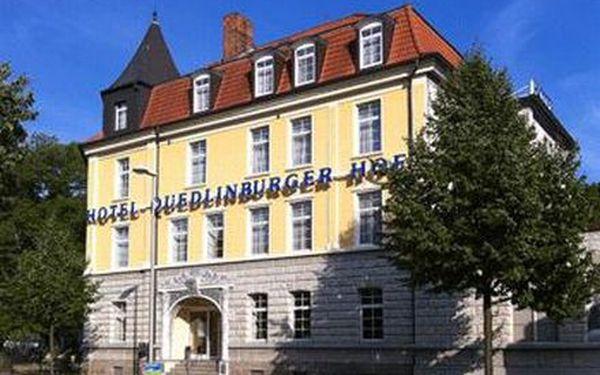 5 dní pro 2 s polopenzí v útulném hotelu v malebném městečku Quedlinburg / Německo