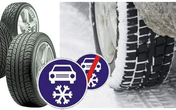 Přezutí pneumatik za skvělých 399 Kč. Od listopadu jsou zimní pneumatiky povinné, proto neriskujte pokutu ani nehodu.