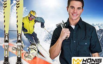 Předběhněte v servise obvyklou frontu a připravte své lyže nebo snowboard na zimní sezónu. 38% sleva na maxiservis lyží a snowboardů.