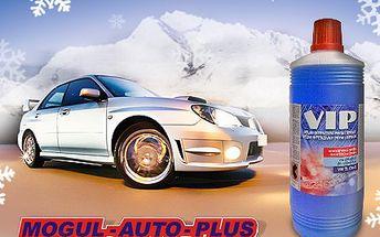 Skvělá podzimní zpráva pro všechny řidiče! 50% sleva na 1 litr nemrznoucí směsi do chladiče. 69 Kč za velmi kvalitní nemrznoucí směs do chladiče od společnosti Mogul Auto Plus s.r.o.