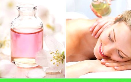 Jedinečná aromaterapeutická masáž s 51% slevou odbourá stres a vykouzlí náladu skvělou. 90-ti minutová aromaterapeutická masáž celého těla v masážním studiu Kamily Stýblové.
