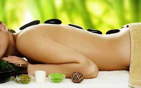 Fantastická hodinová masáž lávovými kameny. Skvělý podzimní zážitek hřejivé relaxace a uvolnění těla.