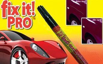 Škrábance na laku auta, už nemusíte řešit drahým přelakováním. Postačí Vám pouze profesionální opravný pero FIX IT PRO s cenou 149 Kč vč. POŠTOVNÉHO
