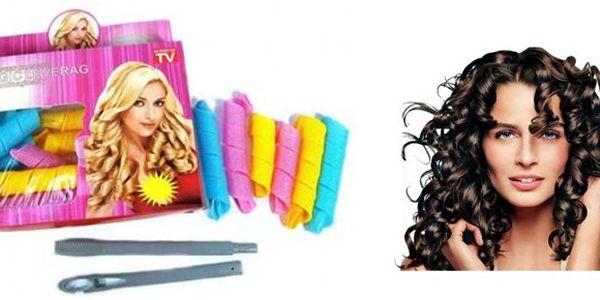 16 kusů MAGICKÝCH NATÁČEK na různé délky vlasů + háček, za skvělou cenu 185 Kč VČETNĚ POŠTOVNÉHO. Pro krásný účes už nemusíte chodit do kadeřnictví.