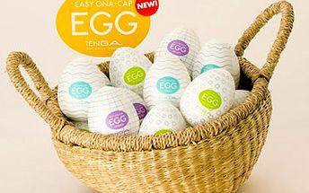 Skvělý erotický pomocník pro pány Tenga Egg dle vašeho výběru za sexy cenu 99 Kč! Dámy neváhejte a překvapte svého partnera či kamarády tímto originálním dárkem se slevou 61 %!