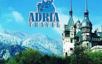 4-dňový poznávací zájazd do tajomnej TRANSYLVÁNIE s Adria Travel! Návšteva rodného domu DRACULU, prehliadka múzea a hradu kde vznikla jeho legenda, a k tomu všetkému kúpanie v jaskyni! Len teraz so zľavou až 50%! V predaji posledných 10ks!