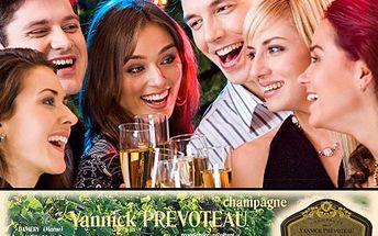 Dopřejte si pravou perlu mezi champagne. Prvotřídní originál francouzského champagne LA PERLA. S 61% slevou pravé champagne LA PERLA z rodinného vinařství Yannick Prevoteau.