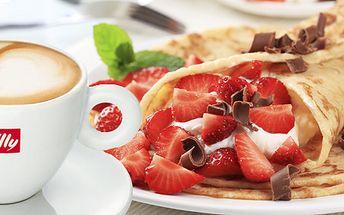 99 Kč za DVĚ palačinky s ovocem ašlehačkou a DVĚ espressa illy. Dejte si pauzu v útulné kavárně Caffe bar illy se slevou 53 %.