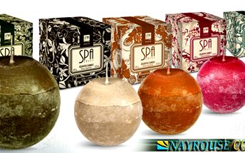 Provoňte svůj dům příjemnou vůní vonných svíček SPA Senses!! Vonná svíčka do každého bytu či kanceláře. Šíří kolem sebe okouzlující aroma !!