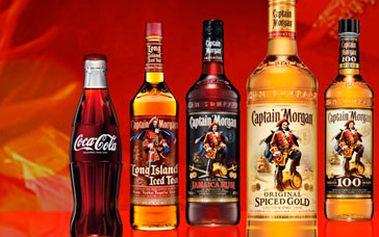 Neuvěřitelných 235 Kč namísto 550 Kč za Captain Morgan a Cola (kýbl 3 litry) pro 6 osob v baru Rebbel cafe. Skvělá sleva 58 %!