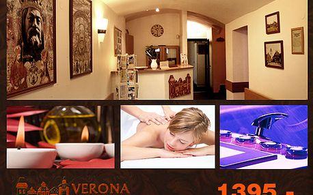Víkendový pobyt pro jednoho v hotelu Verona Mea v Berouně a výběr jednoho ze tří relaxačních balíčků v Relax centru Beroun jen za 1395,-