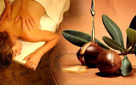 Dokonalé uvolnění těla a duše s MAROCKOU MASÁŽÍ arganovým olejem!! Ponořte se do tajemného světa orientální relaxace! Luxusní masáž je nezapomenutelný zážitek!