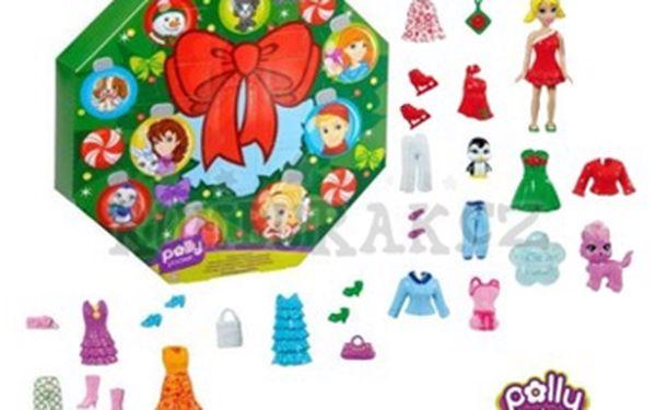 Skvělý adventní kalendář pro holčičkys panenkouPolly Pocket se slevou 60 %!Skvělý dárek, který pomůže holčičkám v překonávání dlouhých dnů do Štědrého dne, za cenu 199 Kč!