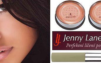 Vyzkoušejte profesionální kosmetiku Jenny Lane - pudr, make-up a korekční tyčinka za neuvěřitelných 225 Kč.