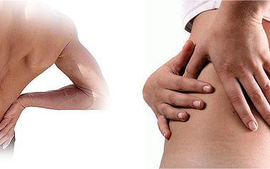 Alternativní terapie s cílem vyřešit bolesti zad a páteře - šitá na míru! Dornova metoda, masáž lávovými kameny, lymfodrenáž a Ervínovy očistné tělové svíce!