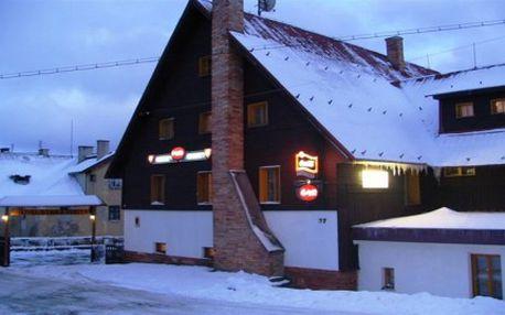 TÝDENNÍ POBYT NA HORÁCH. Ubytování v hotelu se snídaní. 300 m od Krušnohorské magistrály, 6 km od Božího Daru a 12 km od SKI areálu Klínovec. Příjemný hotel s rodinnou atmosférou v lyžařském regionu Krušných hor. Užijte si pohodu, super lyžovačku a skvělé výlety po okolí.