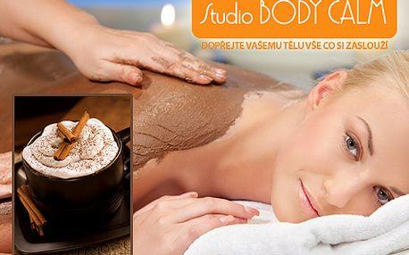 Dvouhodinové čokoládové opojení pro vaše smysly! Užijte si detoxikační čokoládovou masáž celého těla i obličeje a dekoltu se slevou 70 % a šálek horké čokolády jako bonus!