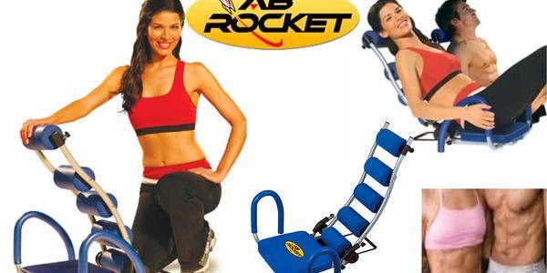 Efektivní fitness přístroj AB ROCKET se slevou 58%!! Vraťte se zpět do kondice pohodlně z domova!